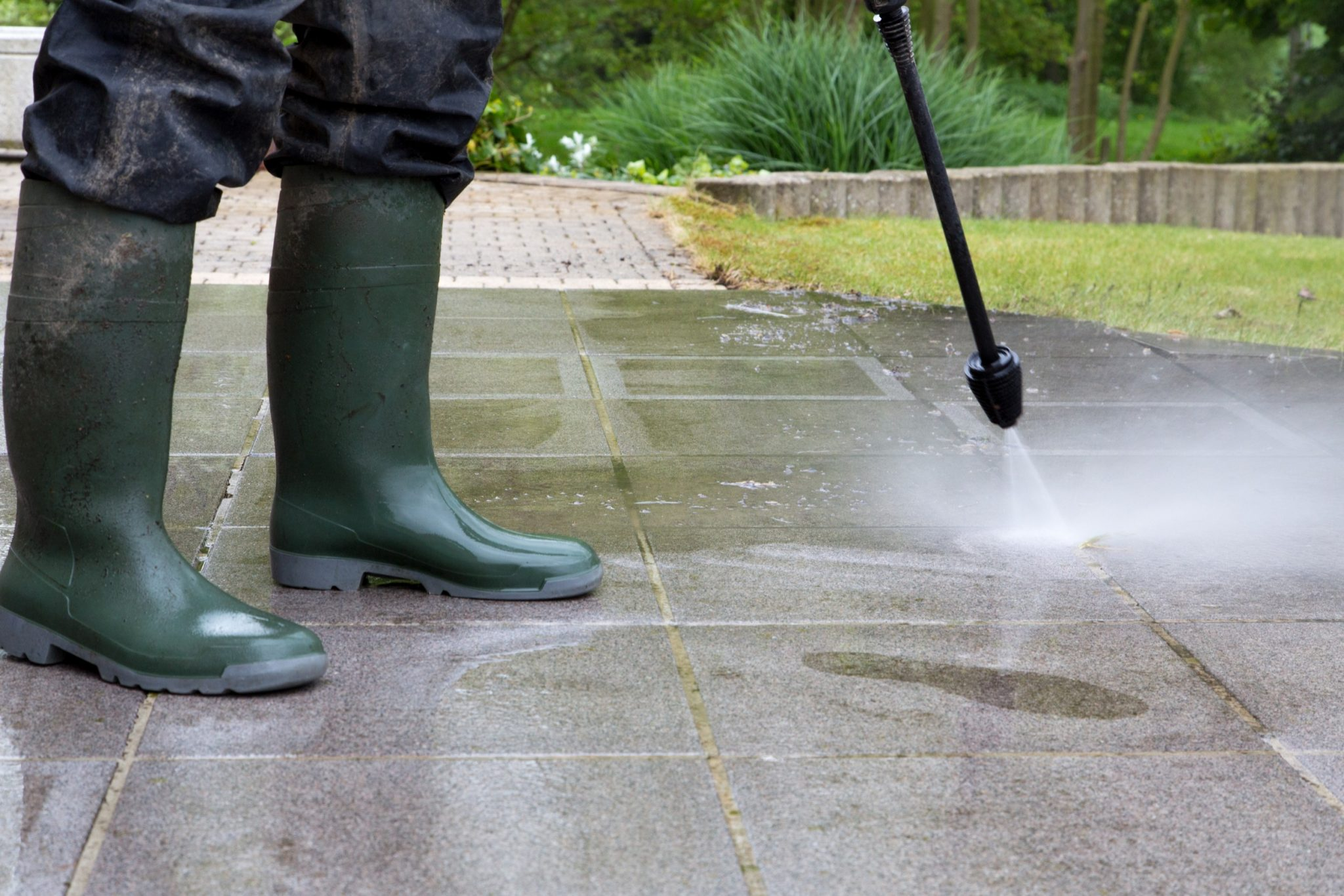 How Professional Concrete Cleaning Benefit Your Property