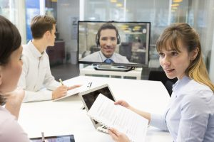 Main benefits of video remote interpreting services in various fields