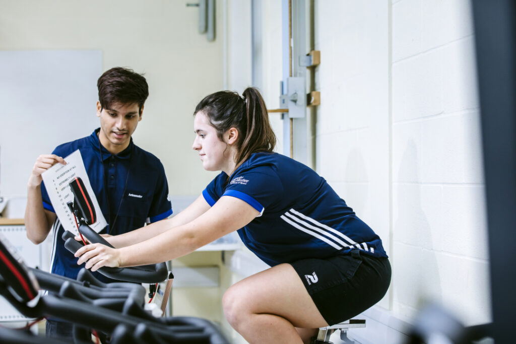Exercise and sports science courses