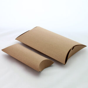 Pillow Boxes in Cardboard Material