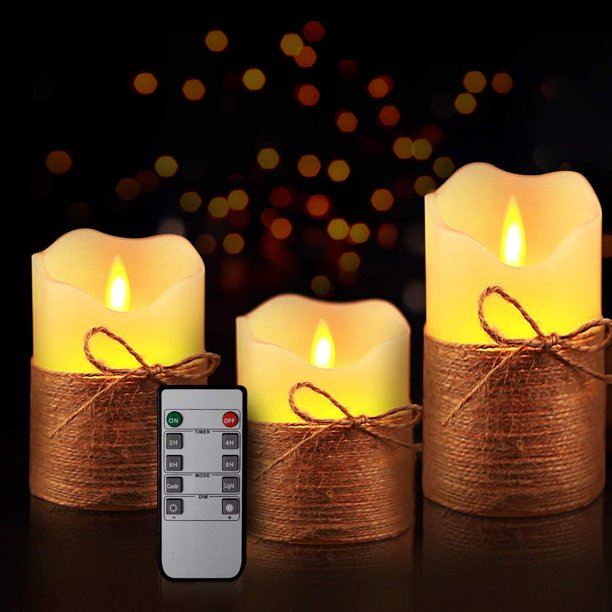 The Advantages Of Using Electric Candles:.