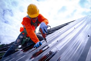 Commercial roof repair service