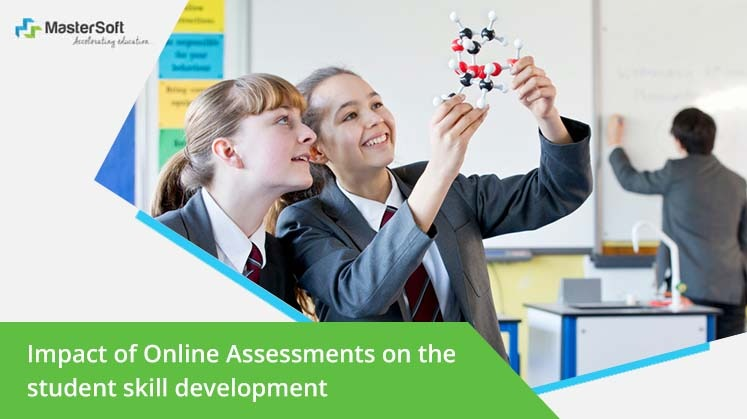 Impact of Online Assessments on the student skill development