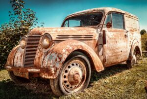 remove rust with undercoating